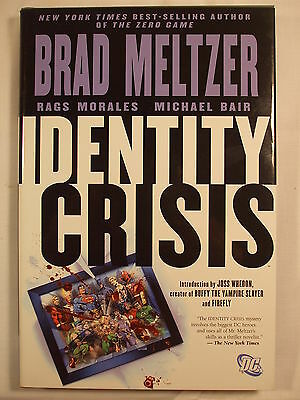 Identity Crisis Hardcover First Printing 2005