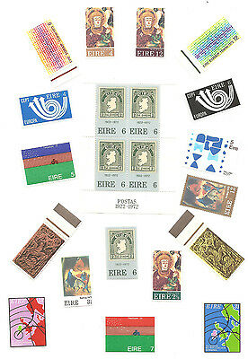 IRELAND POSTAGE STAMPS EIRE 1972/3 Min Sheet - MS324 PLUS SG318/335 18 OFF MNH