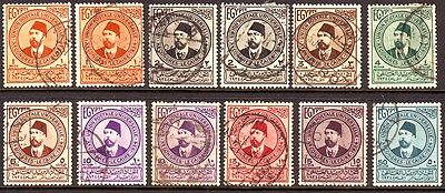 1934 North Africa   Upu Issue   Ismail Pasha  83 Years Old == 12 ==