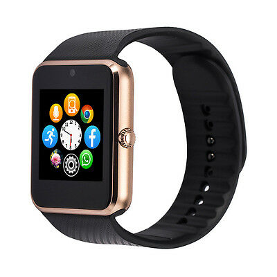 Smartwatch Colore Oronero Android Clone Apple Watch Nuovo Iphone Samsung.
