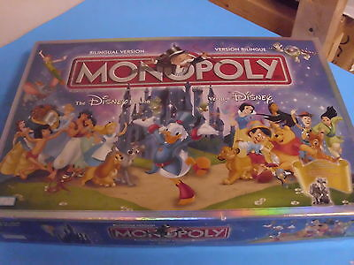 Monopoly The Disney Edition  Board Game Replacement Pieces Only