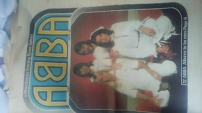 ABBA Manchester Evening News Special edition from 1978
