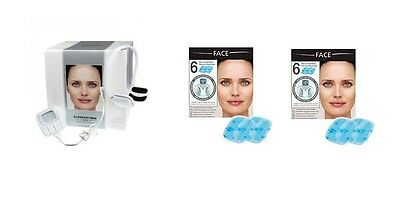 Slendertone Face System for FaceLift Wrinkles PLUS 2 Extra Sets of Pads *New*