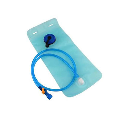 2L Water Hydration Bladder Heavy Duty Replacement Water Reservoir Camping Hiking