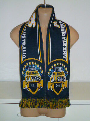 A-League All Stars Scarf 2013 Anz Stadium Manchester United Fc Football Soccer