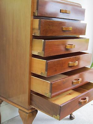 Vintage Retro Style Filing Records Cabinet / Chest of drawers