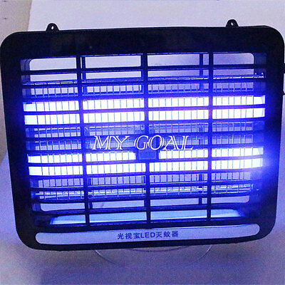 UV LED Light Electronic Fly Killer Indoor Mosquito Insect Bug Zapper Trap Home