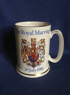 Wood and Sons. Tankard. The Royal Marriage. Charles and Diana.