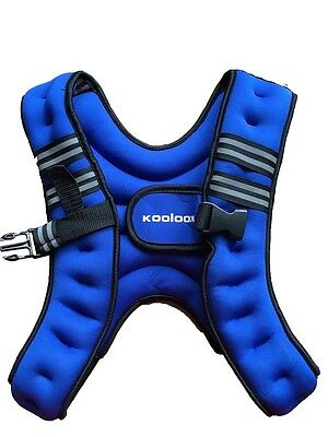 Weight Vest - Weight Loss, Running, Training, Gym - 5kg blue Color KOOLOOK !!!