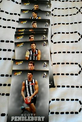 2016 Collingwood Select Footy Stars Cards