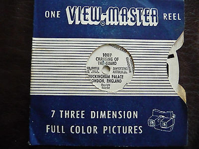 Vintage Viewmaster Reel Changing Of The Guard