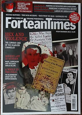 Fortean Times # 334. Mint Condition. 2015