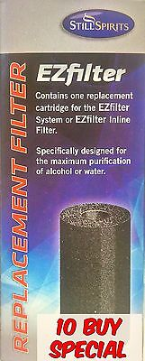 Still Spirits EZ Filter Carbon Cartridge - 10 pack - Home Brew Spirits