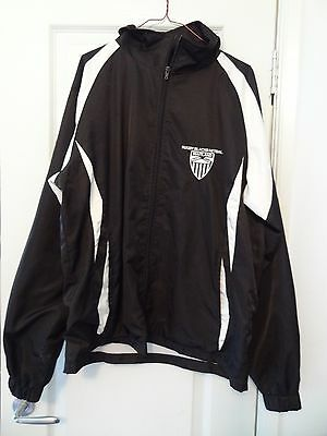 Maitland Rugby Black Netball Tracksuit Top Size S