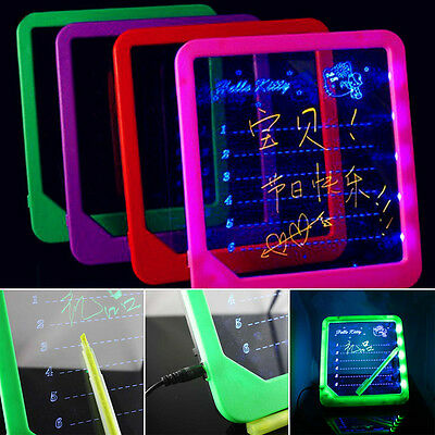 LED Writing Tablet Menu Fluorescent Boards Message Board Erasable Home Office