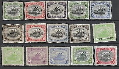 Papua  X 15 Stamps Mh