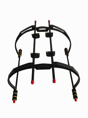 F450 / F550 High Landing Skid Gear Stay Kit Hexacopter Universal 200mm Round