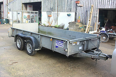 ifor williams 12 x 5ft plant trailer KFG27