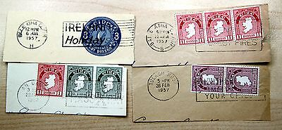 Ireland early with good postmarks (lot K3280)