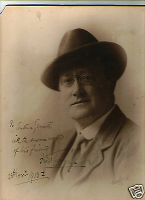"""Fred Terry. Theatre Manager And Actor Signed Autograph 9.1/2"""" x 11.1/2"""" Photo"""