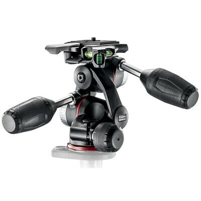 New In Box Manfrotto MHXPRO-3W X-PRO 3-Way Tripod Head with Retractable Levers