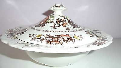 Made in England Crown Ducal Formosa vintage tureen with lid