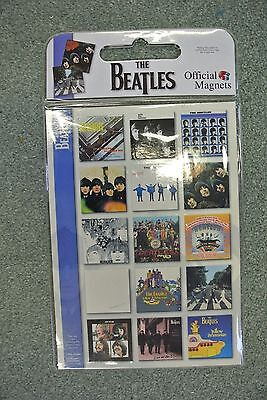 Official The Beatles - 15 fridge magnets