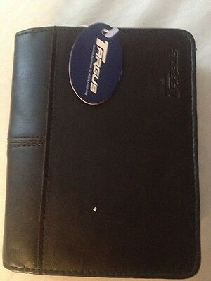 Tagus PDA Travel Wallet -Black Travel Wallet Zipper BRAND NEW