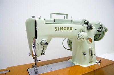 SINGER 320K RARE Powerful Semi Industrial Free Arm Sewing Machine FULLY SERVICED