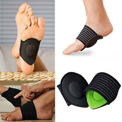 Strutz Cushioned Arch Foot Support Helps Decrease Plantar Fasciitis Pain 1Pair
