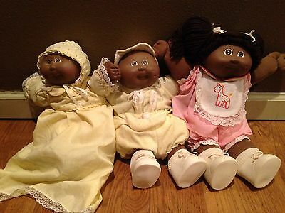 Set of Cabbage Patch Kids Vintage And Rare