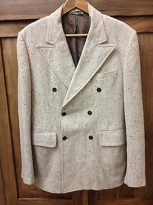 Men's Vintage Double breasted blazer- good condition 1950's-1960's