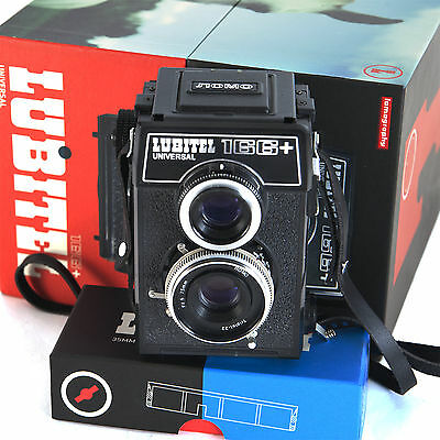 Lomography Lubitel 166+ & all accessories