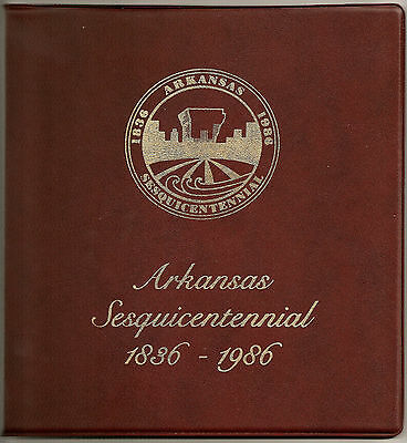 BILL CLINTON-SIGNED 1ST Day Issue Ceremony-150th Yr Arkansas Statehood