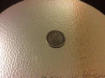 Silver One And A Half Penny 1834 Coin King William Iiii