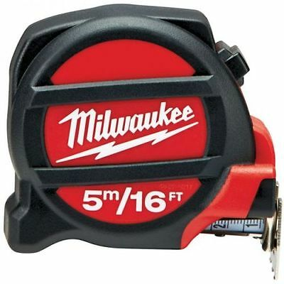 Milwaukee Premium 5M/16Ft Tape Measure 48225217 Metric Imperial