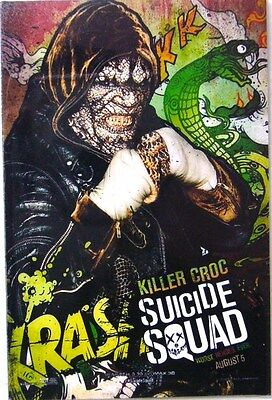 """New FRIDGE MAGNETS SUICIDE SQUAD HOLLYWOOD MOVIE Size 2""""x 3""""Will Smith Set 12 pc"""