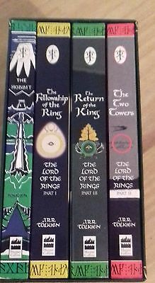 J.r.r.tolkien Boxed Set Books The Hobbit The Lord Of The Rings
