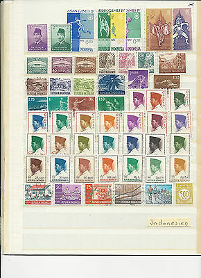 Briefmarken,Indonesien ,gestemp. & postfrisch