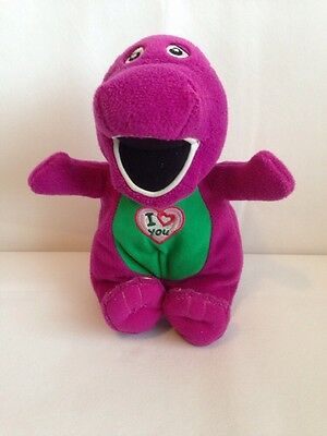 Collectable 2007 Singing Barney Plush Soft Toy.