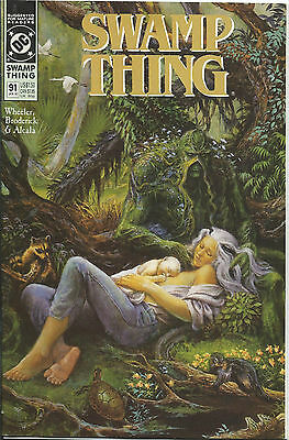 Swamp Thing #91 - January 1990