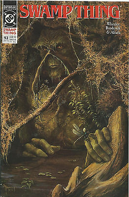 Swamp Thing #93 - March 1990