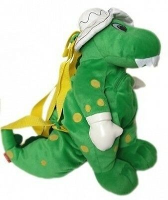 The Wiggles Dorothy The Dinosaur Plush Back Pack Stuffed Animal Carry Bag