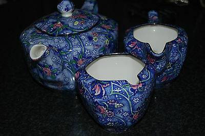 Vintage RINGTONS CHINTZ TEA SET MADE BY SADLER