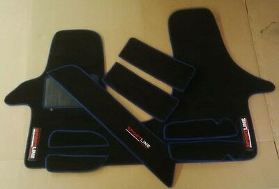 VW Transporter t5 Cab mat set Left Hand Drive