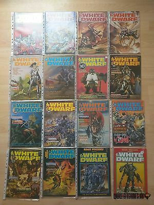 White Dwarf multilist select 01-260 old issue monthly magazine Games Workshop