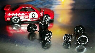 Hot Wheels Good Year Eagle Set Of Real Rubber Tires