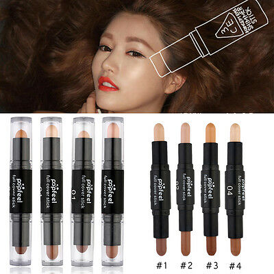 !*Dual Ends Concealer Stick Perfect and Hide Light Shade Colour Trend Sealed*S!