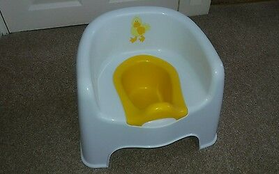 Used Kids Potty Chair Seat Baby Toddler Training  Removable