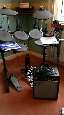 Yamaha Dtxpress Electronic Drum Kit With Amplifier